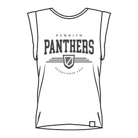Panthers Ladies Muscle Tank Tee