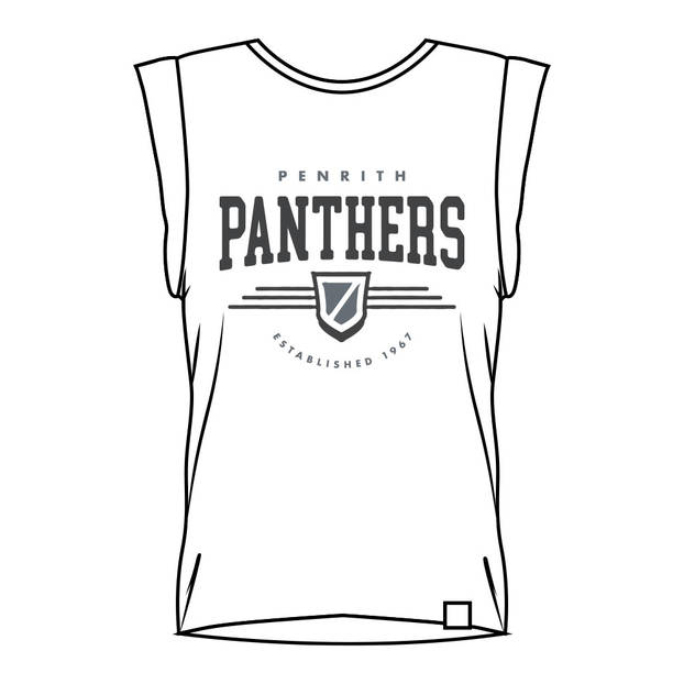 Panthers Ladies Muscle Tank Tee0