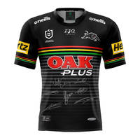 2020 Panthers Signed Home Jersey0