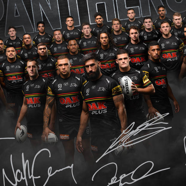2020 Panthers Signed Team Poster1