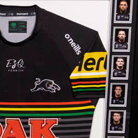 2020 Panthers Framed Signed Jersey4