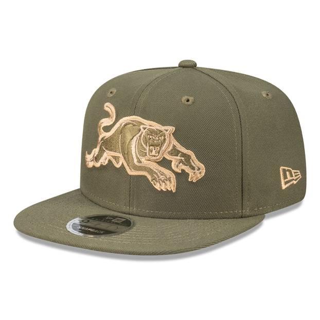 New Era Panthers Olive 9FIFTY Snapback1