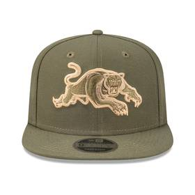 New Era Panthers Olive 9FIFTY Snapback