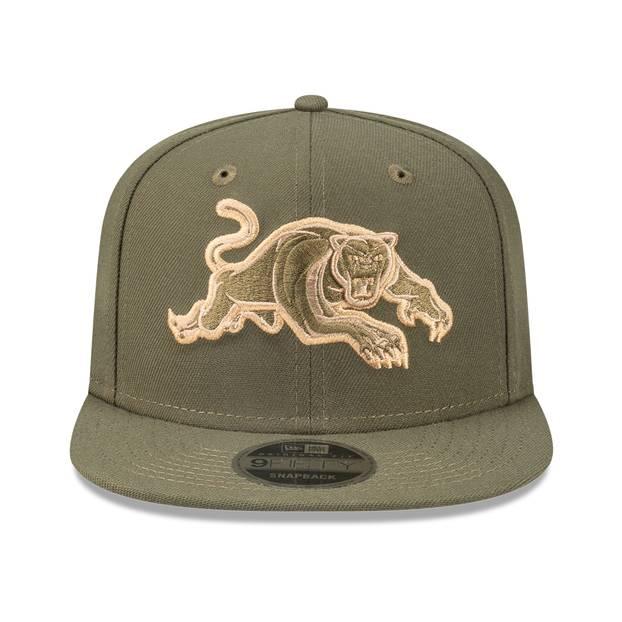 New Era Panthers Olive 9FIFTY Snapback0