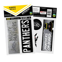 Panthers Bumper Decal Sheet0