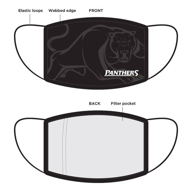 PRE-ORDER: Panthers Face Mask2