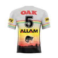 5. Malakai Watene-Zelezniak Signed, Player-Issued Indigenous Jersey0
