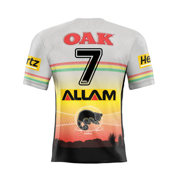 main7. Nathan Cleary Signed, Match-Worn Indigenous Jersey1