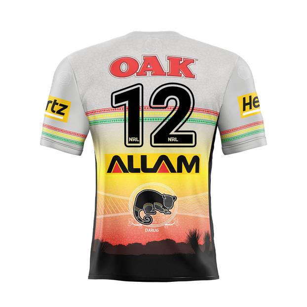 main12. Liam Martin Signed, Match-Worn Indigenous Jersey1
