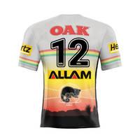 12. Liam Martin Signed, Match-Worn Indigenous Jersey1