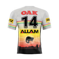 14. Tyrone May Signed, Match-Worn Indigenous Jersey1