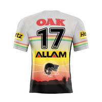 17. Billy Burns Signed, Player-Issued Indigenous Jersey0