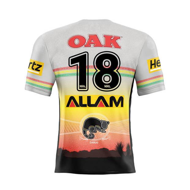 main18. Api Koroisau Signed, Match-Worn Indigenous Jersey1