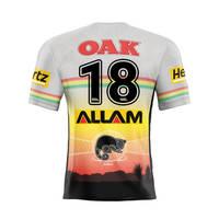 18. Api Koroisau Signed, Match-Worn Indigenous Jersey1