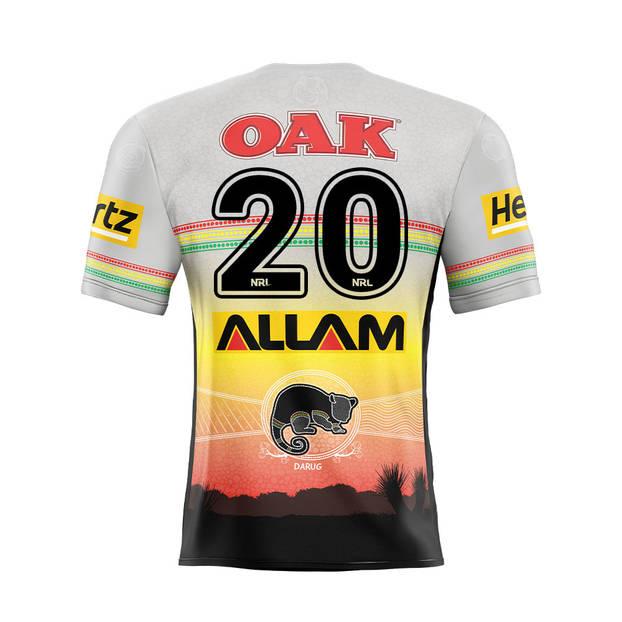 main20. Zane Tetevano Signed, Match-Worn Indigenous Jersey1