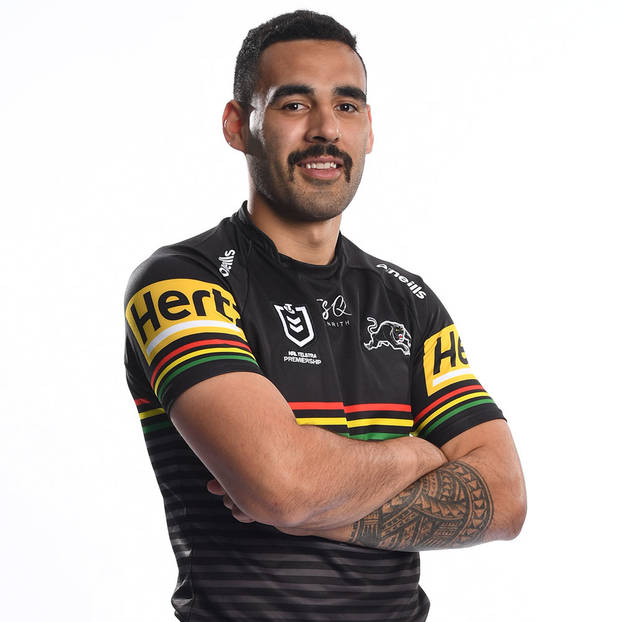 main14. Tyrone May Signed, Match-Worn Indigenous Jersey3