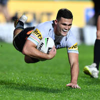 7. Nathan Cleary Signed, Match-Worn Indigenous Jersey4
