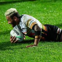 18. Api Koroisau Signed, Match-Worn Indigenous Jersey0