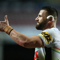 2. Josh Mansour Signed, Match-Worn Indigenous Jersey4
