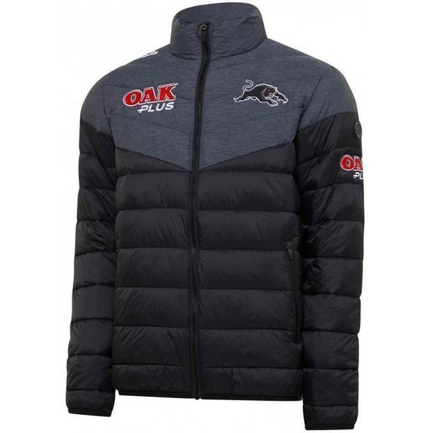 2020 Panthers Youth Norton Padded Jacket0