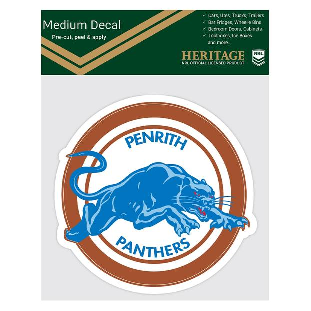 Panthers 1988 Heritage Logo Decal0