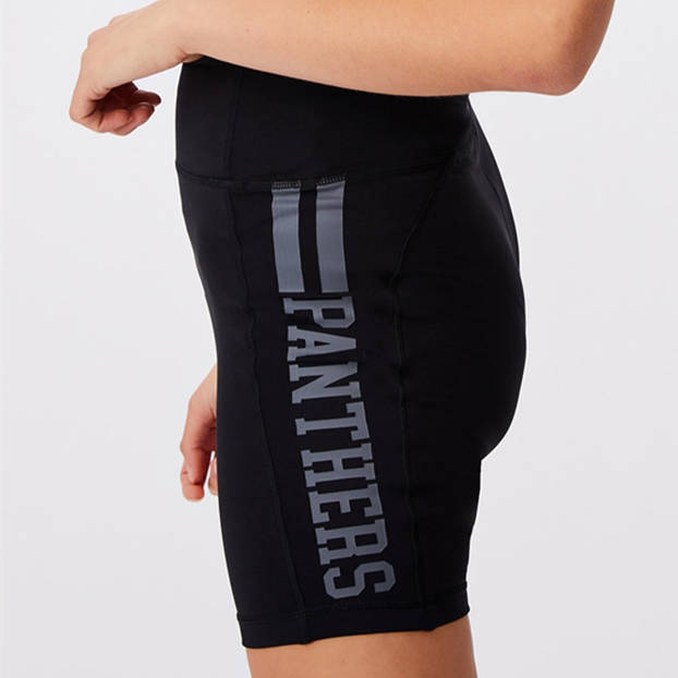 Panthers Ladies Pocket Bike Shorts0