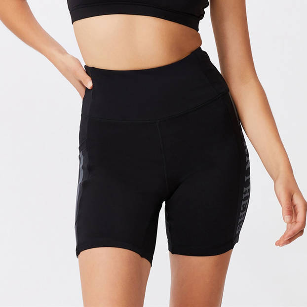 Panthers Ladies Pocket Bike Shorts2