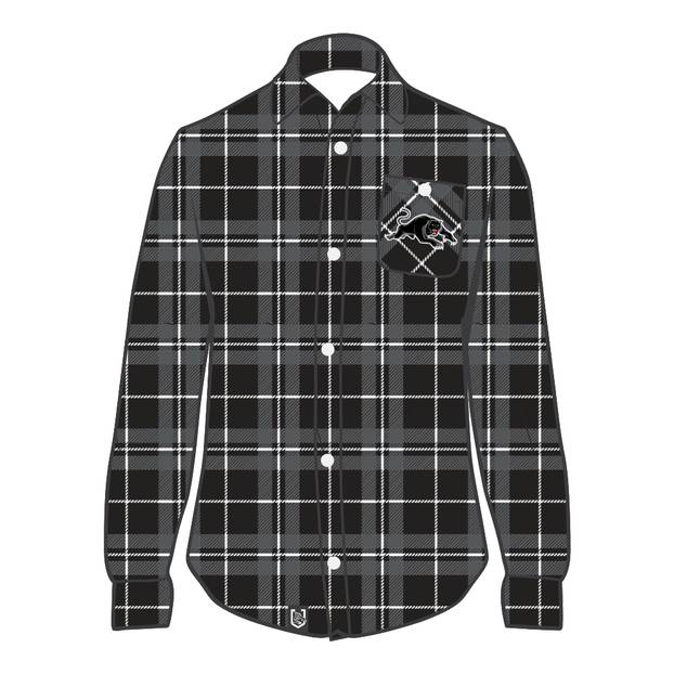 Panthers Men's Flannel Shirt0