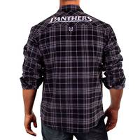 Panthers Men's Flannel Shirt2