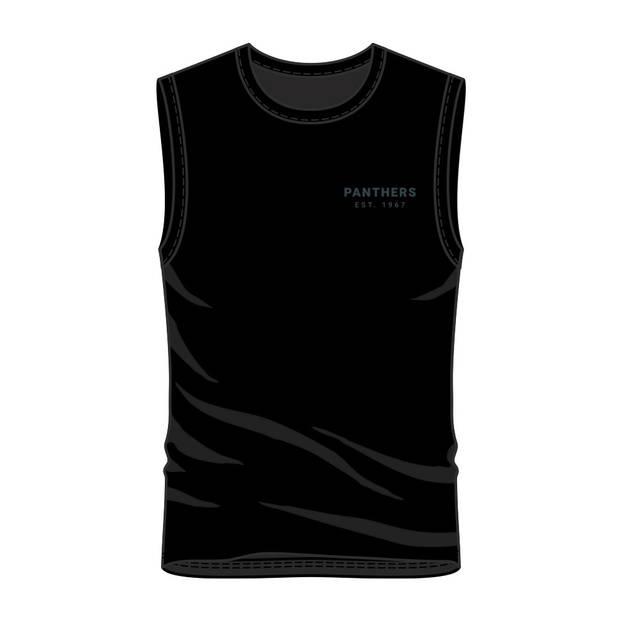 Panthers Men's Text Muscle Tank0