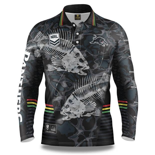 Panthers Men's 'Skeletal' Fishing Shirt0