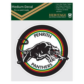 Panthers 1991 Heritage Logo Decal