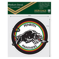 Panthers 1991 Heritage Logo Decal1