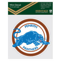 Panthers 1988 & 1991 Heritage Mini Decal2