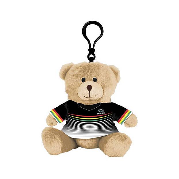 Panthers Mini Teddy Bag Tag0