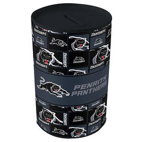 Panthers Tin Money Box