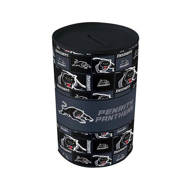 Panthers Tin Money Box0