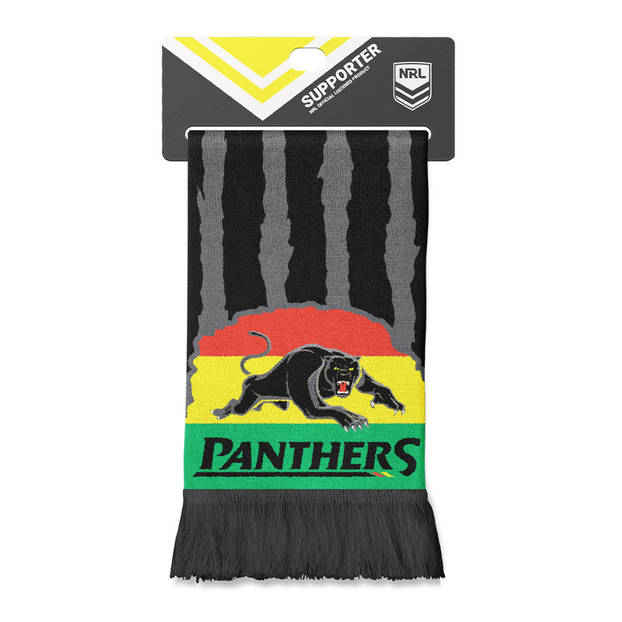Panthers Alliance Jacquard Scarf0