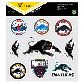 Panthers Giant Logo Stickers