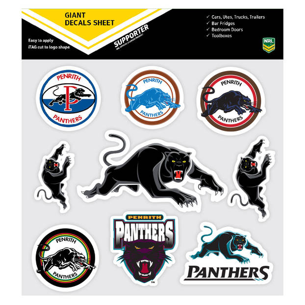 Panthers Giant Logo Stickers0