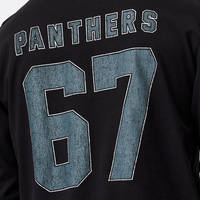 Panthers Men's Number Long Sleeve Top3