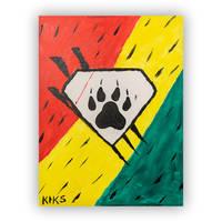 Viliame Kikau Heroes with Ability Painting0