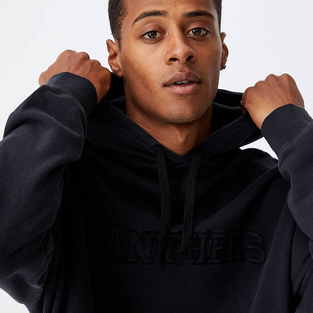 Panthers Men's Embroidered Hoodie0