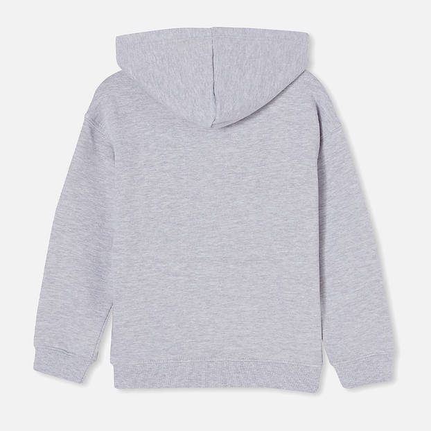 Panthers Kids Grey Embroidered Hoodie2