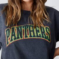 Panthers Ladies Collegiate Tee1