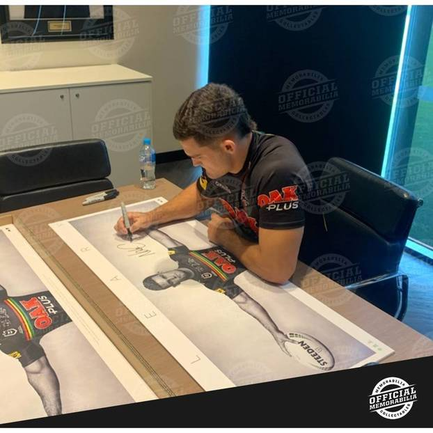 Nathan Cleary Signed Wings2