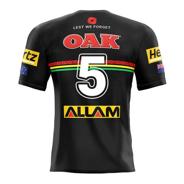 main5. Brian To'o, Match-Worn ANZAC Jersey2