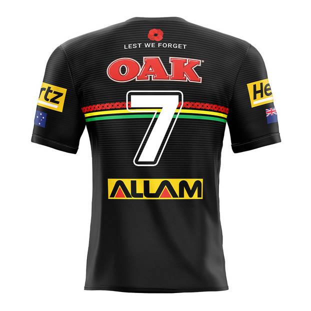 main7. Nathan Cleary, Match-Worn ANZAC Jersey2
