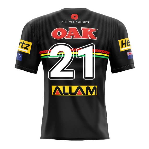 main21. Dylan Edwards, Match-Worn ANZAC Jersey2