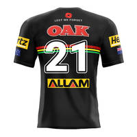 21. Dylan Edwards, Match-Worn ANZAC Jersey2